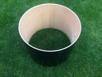 "22"" Drum shell - good wood - Ideal For Project, Home Table DIY etc"