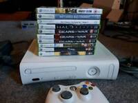Xbox 360 HDMI & games bundle. Not banned fully working
