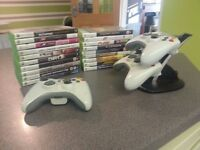 X BOX 360 Plus 20 Games