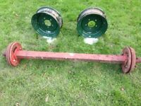 trailer axle project