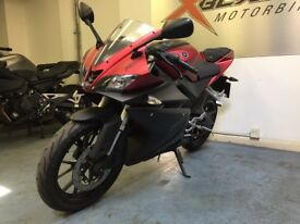 Yamaha YZF R125 Sports Motorcycle, Red, Very Good Condition, ** Finance Available **
