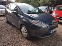 Ford Fiesta 1.25 Edge 3dr£3,450 p/x welcome FREE 1 YEAR WARRANTY,NEW MOT