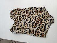 Motel leopard print bodysuit