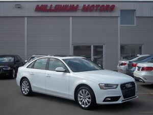 2013 Audi A4 2.0T AWD PREMIUM / LEATHER / SUNROOF / MUST SEE