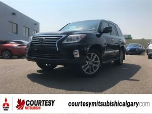 2014 Lexus LX 570 *8 PASSENGER, LEATHER, NAVIGATION, DVD, SUNROO