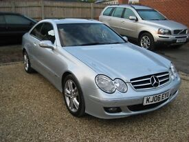 Mercedes CLK 320 CDI Coupe Avantgarde automatic. A stunning example. 2006