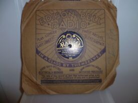 Original Edison Bell Radio 78 Record: The Blue Jays, Dancing on the Ceiling