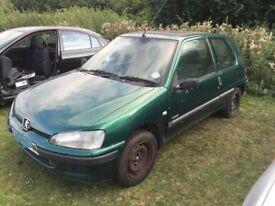 2001 Peugeot 106,MANUAL 1.1 petrol,complete engine,BREAKING,SPARES,GEARBOX,door,bumper,alternator