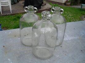 Glass Demijohns