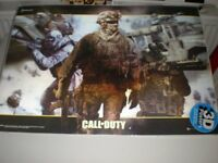 CALL OF DUTY, RARE 3D POSTER, MODERN WARFARE 2010.