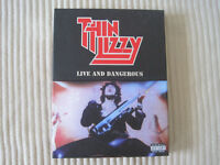Thin Lizzy - Live and Dangerous DVD (Plus DVD Extras, Live CD and Booklet)