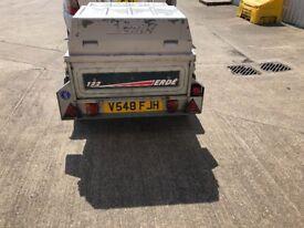Tipper car trailer