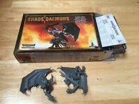 Daemon Prince - Part Built, Chaos Daemons (Warhammer & Warhammer 40,000)