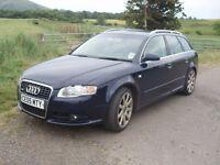 Audi A4 2.0 TDi SLine spares or repair £1650ono