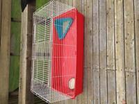 Large rabbit cage + accessories