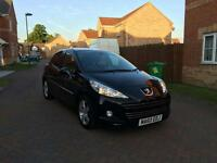 2010 PEUGEOT 207 1.6 DIESEL SPORTS 12 MONTH MOT FULL SERVICE HISTORY LOW MILEAGE ONLY 38K HPI CLEAR