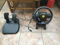 Steering Wheel For Xbox 360 and PC Thrustmaster Ferrari 458