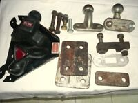 Towing Parts:- 2 Tow Balls, 3 mounting/drop plates, 3 spacers, 6 bolts&nuts, 2 covers