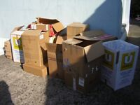 20+ double walled cardboard boxes for moving