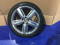 VOLKSWAGEN TOUAREG ALTITUDE Alloy wheels and very good tyres 275x40RX20 - 20 inch alloy V.G.C.