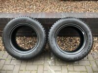Goodyear Ultragrip M+S tyres (New) 245x65x17, 4x4 tyres for sale