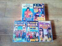 Various Wrestling VHS Videos WWF WWE DVD Job Lot
