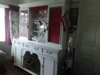 Large old shabby chic dresser