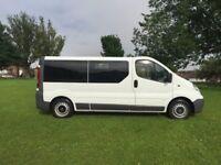 Vauxhall Vivaro 2900 2.0CDTi 115PS 12 Seat Minibus VERY LOW MILEAGE