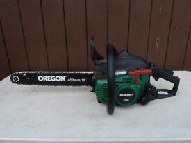 Qualcast PC40 Chainsaw with 2-Stroke Petrol Engine