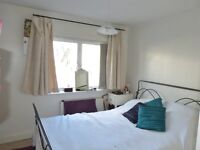 Large double room with ensuite bathroom, in 4-bed house, with living room, garden and conservatory