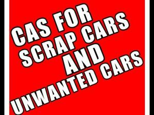 JUNK CAR REMOVAL CALL 416-529-6625 WE PAY TOP DOLLAR FOR SCRAP CARS AND USED CARS/DAMAGE/ACCIDENT/SALVAGE/FREE TOWING...