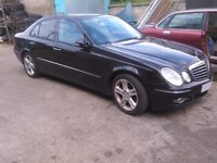 Mercedes E280 CDI E class W211 facelift automatic Breaking for spares parts OM642 engine