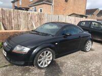 Audi TT black 1.8 manual 2003