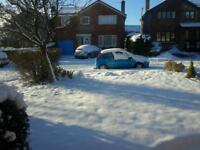 Snow Clearing & Salting, Driveways & Paths
