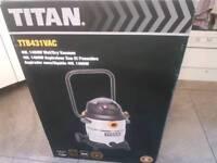 TITAN TTB431VAC 1400W 40LTR WET & DRY VACUUM CLEANER 240V