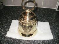 Church/christmas brass bell (large)