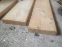 8 planks of pine wood