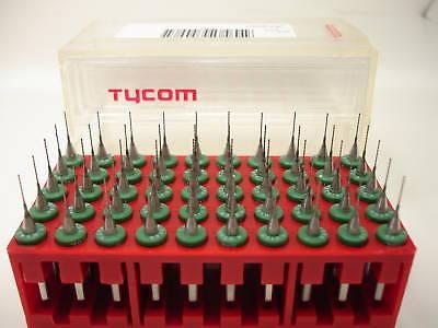 50 Tycom Pcb Cnc Carbide Drill Bits 0.0160 Inch 0.40mm Jewelry