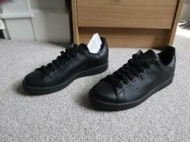 Adidas Originals Stan Smith trainers - Black size 5
