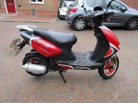 Yiben 125cc scooter