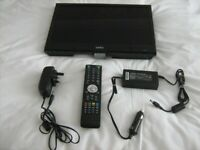 "Cello Portable TV & DVD Player 16"" Mains or 12v for home or caravan/motorhome"