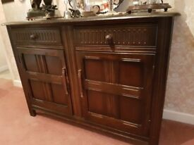 Dark Oak Sideboard PRICE REDUCED FOR QUICK SALE