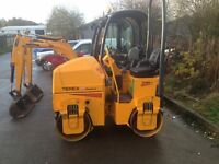 mini excavators rollers dumpers compressors and any other plant wanted
