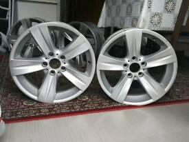 4 GENUINE BMW ALLOYS - USED E92