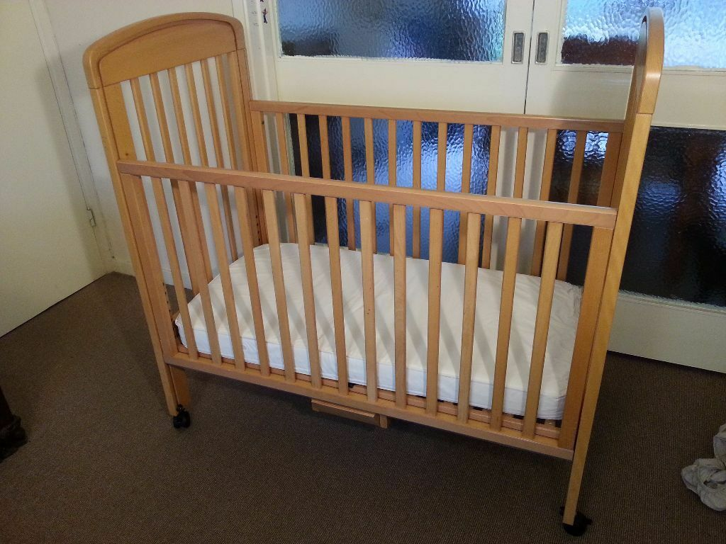 Only 163 30 Brio Bedside Cot And Mothercare Mattress Very