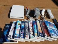 Nintendo Wii console plus 10 games bundle - bargain £39