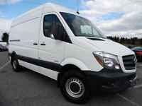 2014 Mercedes-Benz Sprinter BlueTEC 2500 V6 & HIGH TOP & NAV REA