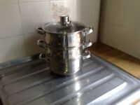 2 tier steamer for sale