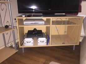 Matching Living room Tv Cabinet and shelves! Perfect Condition.