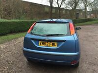 FORD FOCUS 1.4 CL 5 DOOR MOT NOVEMBER 2017 TIMING BELT REPLACED LOW INSURANCE 40+ MPG